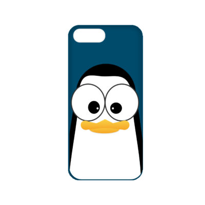 Crazy Pinguins iPhone 7 Plus Case by Andre Martin