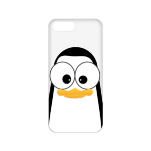 Crazy Pinguins iPhone 8 Plus Case by Andre Martin