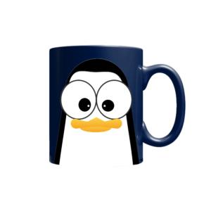 Crazy Pinguins Mug Blue
